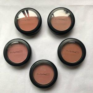 Bundle of 5x MAC blushes